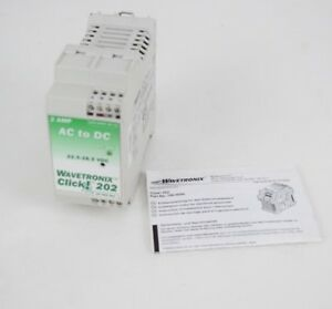 Wavetronix Click 202 2 Amp 24v Ac To Dc Power Supply Converters 100 0090