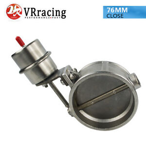 Vacuum Activated Exhaust Cutout 3 76mm Close Style Pressure About 1bar