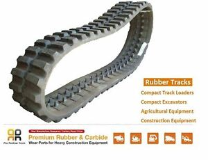Rubber Track 450x100x50 Gehl Ctl80 Mustang Mtl25 Takeuchi Tl 150 12 Skid Steer