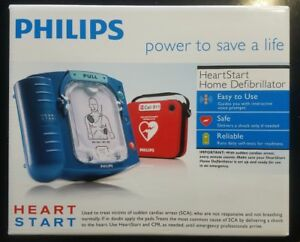 New Factory Sealed Philips Heartstart Home Aed Defibrillator Red Case M5068a