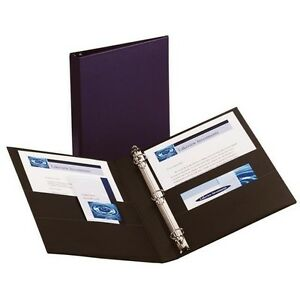 New 5 Pack Avery 1 D Ring 3 Ring Binder 27251 Blue