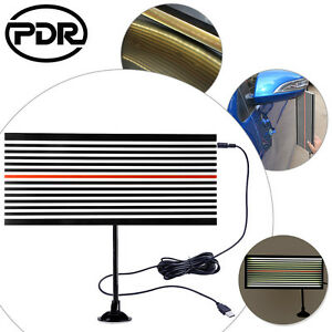 Paintless Dent Repair Led Line Board Scratch Reflector Pdr Light Dent Removal Us