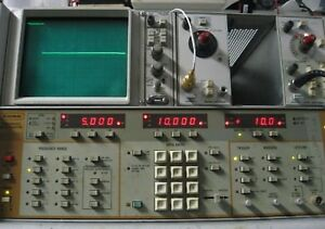 Programmable Rf Sweep Generator 2 18 6 Ghz Tested 12 Dbm Max Wiltron 6637a 40