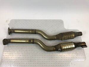 Bmw Oem E60 E61 M5 Center Duel Pipe Line Manifold Intake Exhaust Muffler 7835222