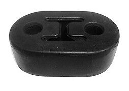 Exhaust Mount Rubber Insulator 1 2 Hole Rod Support 1 3 4 Center To Center