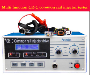 New Cr C Multi Function Common Rail Injector Tester Tool For Bosch Delphi Fast