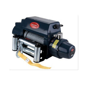 Glf Universal Tds 12 0i 12000lb Pound Electric Recovery Winch 12v Steel Cable