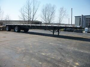 2001 Utility Flatbed Trailer Flatbed Trailers