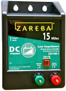 Zareba 15 mile Battery Operated Low Impedance Fence Charger
