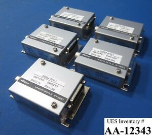 Mitutoyo 09aaa790 Linear Scale St320 Lot Of 5 Nikon Nsr s205c Used Working