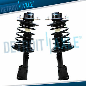 2 Front Strut For 2001 2002 2003 2004 2005 2006 2007 Chrysler Town