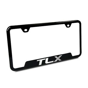 Acura Tlx Black Stainless Steel 50 States License Plate Frame