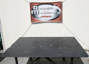 Welding Table 6 X 4 X 33 Or 72 X 48 X 33 And 1 2 Thick