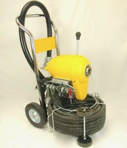 Sds200b 2 8 Sectional Pipe Drain Cleaning Machine Snake By Bluerock Tools