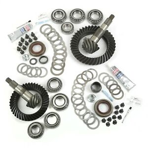 Ring And Pinion Kit 4 10 Ratio For Dana 30 44 07 16 Jeep Wrangler