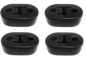 Exhaust Mount Rubber Insulator 1 2 Hole Rod Support Qty 4