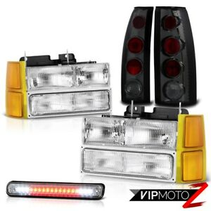 94 98 Chevy Silverado Headlamps Corner 3rd Brake Lamp Taillamps Led Altezza Euro