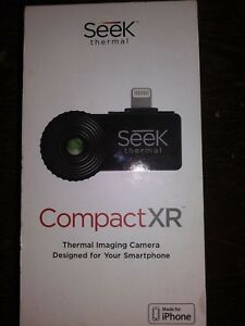 Seek Compact Xr Thermal Imaging Camera For Iphone Black Lt aaa brand New