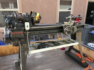 11 South Bend Metal Lathe Model No 84 b