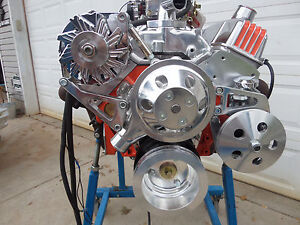 Chevy 350 Hi Performance Roller Engine Turn Key 400 Hp Crate Engine Cr Ehro28