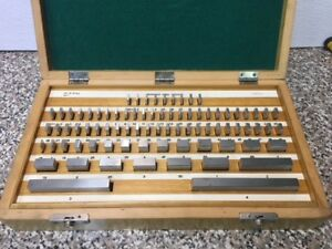 81 Pc Gage Block Set Workshop Grade 000050
