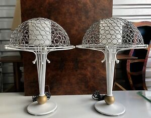 Unique Pair Of George Kovac Post Modern Lamps