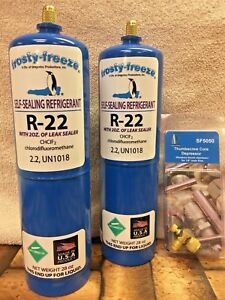 R22 Refrigerant R 22 2 28 Oz Leak Stop Pro Seal Xl4 Good For Up To 5 Tons