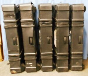 Lot Of 5 Wheeled Cases For Trade Show Booth Components