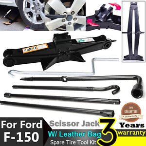 For Ford F150 Spare Tire Car Jack Lug Wrench Lever Tool Case Oem Cl3z 17080 B