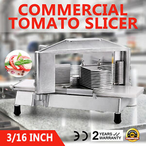 Commercial Tomato Slicer Cutter 3 16 Industrial Consistent Cutting Machine