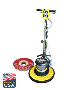 Multi function Floor Adjustable Buffer 17 Kit Machine Scrubber Burnisher