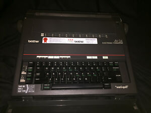 Brother Ax 24 Electronic Typewriter