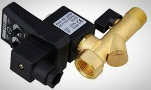 Multifunction Automatic Electronic Timed Compressed Drain Valve Removable Filter