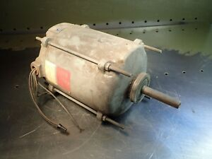 Marathon Electric Hqj 56s11e43f Wccw Motor 1 6hp 1140 Rpm Fr 56 7 Used Good Cond