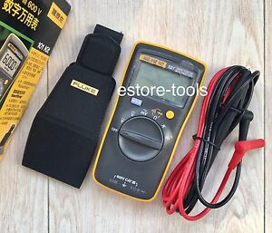 Fluke 101 Kit Palm sized Digital Multimeter Meter W Smart Strap Usa Seller