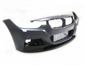 Bmw 3series F30 12 18 M Performance Front Bumper Without Pdc