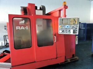 1997 Matsuura Ra 1 Vertical Machining Center W yasnac I80m Control Bt40 6000 Rpm