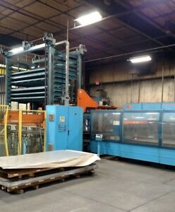 2007 Prima 4 000 Watt Laser Cutting System cp 4000 W auto stacker Feed System