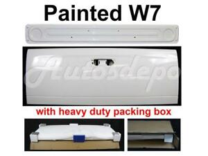 Painted W7 White Tailgate Liner Access Panel For Dodge Ram Pickup 2002 2008