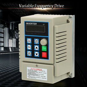 Single To 3 phase Motor Governor Variable Frequency Drive Inverter Cnc 220v 380v