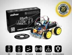 Robot Smart Car Arduino Diy Learning Tutorial Android Wifi Bluetooth Ir Modules