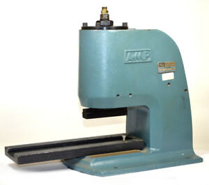 Amp 91112 2 b Pneumatic Arbor Press