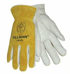 Tillman 1414m 1414 Unlined Cowhide Leather Drivers Glove Cowhide Leather 12