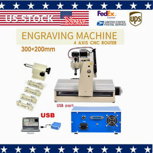 Engraver 3020 Usb Cnc Router Engraving Machine Cutting Milling 3d Cutter Mach3