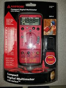 Amprobe 5xp a Compact Digitial Multimeter With Voltect