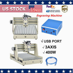 400w 3 Axis Cnc Router Engraving Machine 3d Cutter Drilling Carving New Arrival