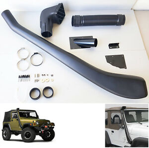 Cold Air Intake System Snorkel Fit 1999 2006 Jeep Wrangler Tj Yj Off Road 4x4