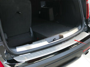 Fit For Ford Explorer 11 15 Stainless Outside Rear Bumper Protector Sill Trim