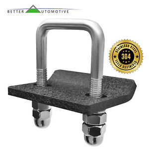 Universal Texture Hitch Tightener Anti Wobble No Rattle For 1 25 2 Hitch S S