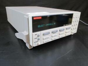 Keithley 7001 Switch System 80 channel Switch System Mainfram